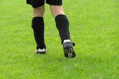 Football legs Stock Photography