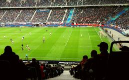 Football. In Leipzig Red Bull Arena Stock Photography