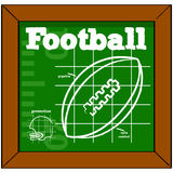 Football lesson Stock Images