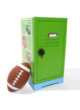 Football Locker Royalty Free Stock Photo
