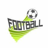 Football logo Stock Image