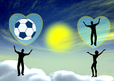 Football Lover Royalty Free Stock Images