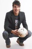 football loving στοκ εικόνες