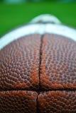 Football. Macro shot of american football Stock Photo