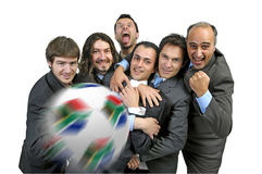 Football madness Royalty Free Stock Images