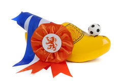 Football madness of Holland Royalty Free Stock Images