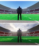 Football manager Royalty Free Stock Photography