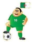 Football mascot Algerie Stock Photos