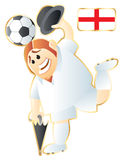 Football mascot England Royalty Free Stock Photos