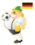 Football mascot Germany Stock Photography