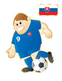 Football mascot Slovakia Royalty Free Stock Photos