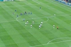 Football match Stock Photo