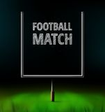 Football Match Royalty Free Stock Photo