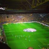 Football match. Of Borussia Dortmund against Werder Bremen Stock Photos