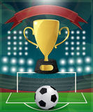 Football Match Day Royalty Free Stock Photos