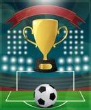 Football Match Day Royalty Free Stock Photos