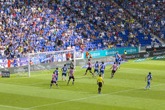 Football match: Espanyol vs Bilbao Stock Photography