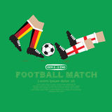 Football Match. Royalty Free Stock Images