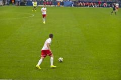 Football Match Stock Image