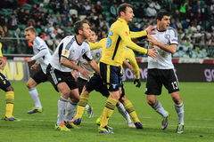Football match Royalty Free Stock Images