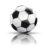 Football Mirror Background Royalty Free Stock Photography