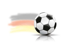 Football Mirror Germany Background Stock Image
