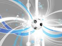 Football modern background Royalty Free Stock Image