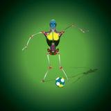 Football-Monde-tasse-Un Photos libres de droits