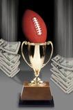 Football and Money. Royalty Free Stock Photos