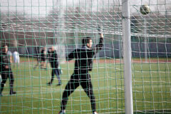 Football net Royalty Free Stock Photos