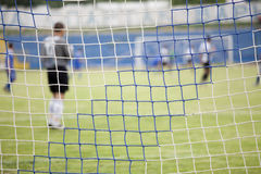 Football net Royalty Free Stock Photography