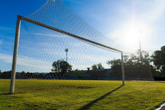 Football  Net Royalty Free Stock Photo