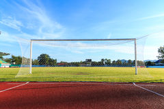 Football  Net Royalty Free Stock Images