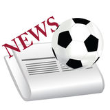 Football news Stock Images