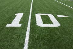 Football Numbers Royalty Free Stock Images