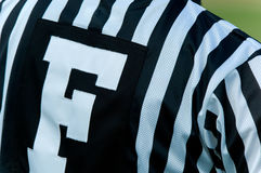 Football Official Stock Image