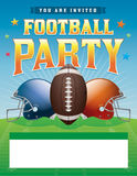 Football Party Illustration Stock Photo