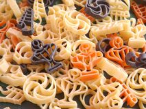 Football Pasta Royalty Free Stock Images