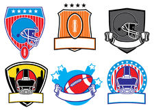Football patch Royalty Free Stock Photography