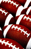 Football pattern Stock Photography