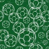 Football pattern,. Seamless football pattern, design eleement, background Stock Images