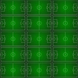 Football pattern Royalty Free Stock Photo