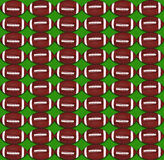 Football pattern background Royalty Free Stock Image