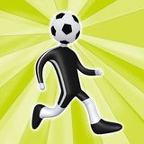Football Person Stock Image