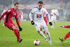 Football: Piast Gliwice - Lech Poznan Stock Photos