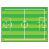 Football pitch royalty free stock images