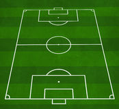 Football pitch stock image