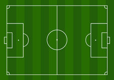 Football pitch Royalty Free Stock Photo