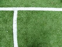 Football pitch. Football / soccer pitch background picture Stock Photo
