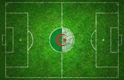 Football Pitch Royalty Free Stock Photos